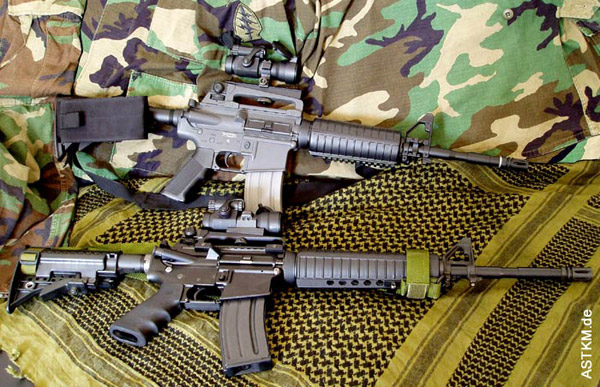 ICS Colt M4A1 vs. Oberlandarms OA15 M5
