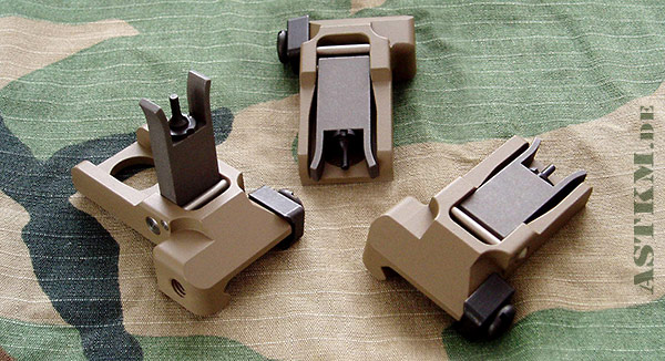 KAC Style Flip up Sights
